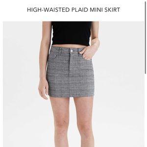 American eagle super stretch plain mini skirt. 00